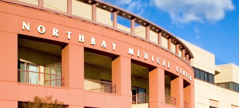 Image of the NorthBay Medicine Center in Fairfield, CA